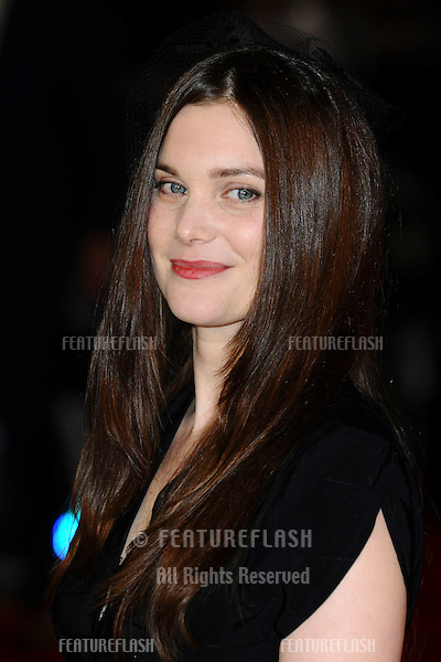 """Liz White arriving for the premiere of """"The Woman in Black"""" at the Royal Festival Hall, South Bank, London.  24/01/2012 Picture by: Steve Vas / Featureflash"""