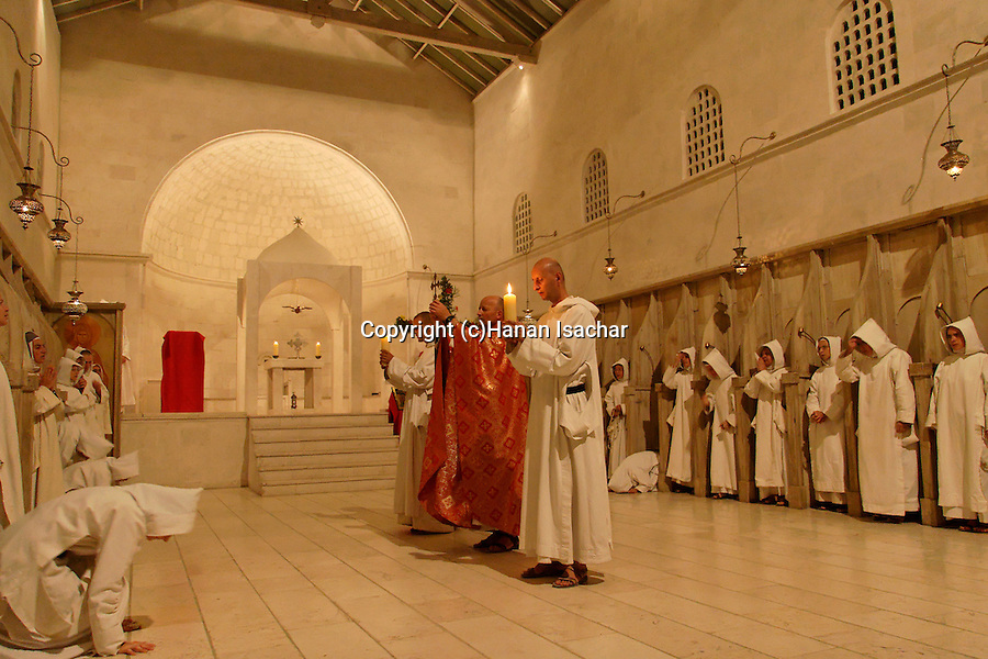 """""""La Croix Glorieuse"""" holiday at the Monastery of the Sisters of Bethlehem of the Assumption of the Virgin and of Saint Bruno in Beth Gemal, Israel"""