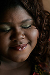LOS ANGELES,CA - DECEMBER 12, 2009: Gabourey Sidibe, star of Precious, photographed before a screening of their new movie at Malibu Cinema, December 12, 2009..(Photo: Spencer Weiner/Los Angeles Times)