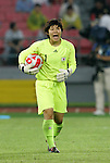 21 August 2008: Miho Fukumoto (JPN). Germany's Women's National Team defeated Japan's Women's National Team 2-0 at the Worker's Stadium in Beijing, China in the Bronze Medal match in the Women's Olympic Football tournament.