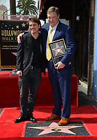 John Goodman &amp; Emile Hirsch Hollywood Walk of Fame star ceremony honoring actor John Goodman. Los Angeles, USA 10 March  2017<br /> Picture: Paul Smith/Featureflash/SilverHub 0208 004 5359 sales@silverhubmedia.com