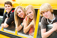 School Bus Teens
