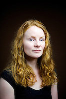 Regina Vereker, 31, stay at home mum from Uphall.<br /> <br /> 'I say red as my mum said Ginger is something you put in food. She was reddish brown, red also came from dad&rsquo;s side with two uncles and two cousins and two nieces, but it tends to be the girls.'  <br /> <br /> 'I got picked on a lot at school but pretty standard insults. My older sister dyed it and now her hair is breaking off. I let it be and am relieved now that I did so. People keep asking to have it dyed red they can&rsquo;t give them the exact colour.'<br /> <br /> 'Red hair makes you very quiet. You kept to yourself, last thing you want is ginger hair. I feel sad for my daughter as it might happen to her. Being noticed is the best and worst thing about it. You get compliments but I have had people walk away from me in the street.'  <br /> <br /> 'I used to live in London and you are definitely noticed more. Isla [daughter] gets really stared at so I am really protective of her. In Edinburgh, I feel more at home. In Scotland its easier to be ginger.'