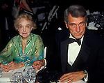May 1984 photo of Rock Hudson and Lillian Gish in Washington, DC.