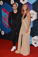 Marcus Butler, Stefanie Giesinger<br /> 2016 MTV EMAs in Ahoy Arena, Rotterdam, The Netherlands on November 06, 2016.<br /> CAP/PL<br /> &copy;Phil Loftus/Capital Pictures /MediaPunch ***NORTH AND SOUTH AMERICAS ONLY***