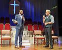 Stefan Adegbola (Associate Pastor) and William Gaminara (Pastor)