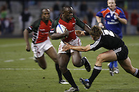 February 14 2009, San Diego, CA, USA:  The IRB USA Sevens Tournament at Petco Park in Downtown San Diego.  Kenya shocked the All Blacks with a stunning perfomance to win 7 -24 during day one action.