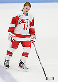 Dakota Woodworth (BU - 11) - The Boston University Terriers defeated the visiting Union College Dutchwomen 6-2 on Saturday, December 13, 2012, at Walter Brown Arena in Boston, Massachusetts.