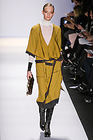 Nimue Smit walks the runway in an out by Max Azria, for the BCBGMAXAZRIA Fall 2011 fashion show, during Mercedes Benz Fashion Week.