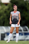 21 August 2015: Fresno State's Alyssa Holsworth. The Duke University Blue Devils played the Fresno State Bulldogs at Fetzer Field in Chapel Hill, NC in a 2015 NCAA Division I Women's Soccer game. Duke won the game 5-0.