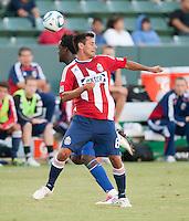 CARSON, CA – SEPTEMBER 19: Chivas USA defender Ante Jazic (6) during a soccer match at Home Depot Center, September 19, 2010 in Carson California. Final score Chivas USA 0, Kansas City Wizards 2.