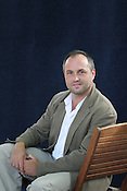 COLUM MCCANN, IRISH AUTHOR, INTERNATIONALLY RENOWED. EDINBURGH INTERNATIONAL BOOK FESTIVAL. Saturday 27th August 2006. Over 600 authors from 35 countries are appearing at the Edinburgh International Book festival during 12th-28th August. The festival takes place in historic Edinburgh city, a UNESCO City of Literature.