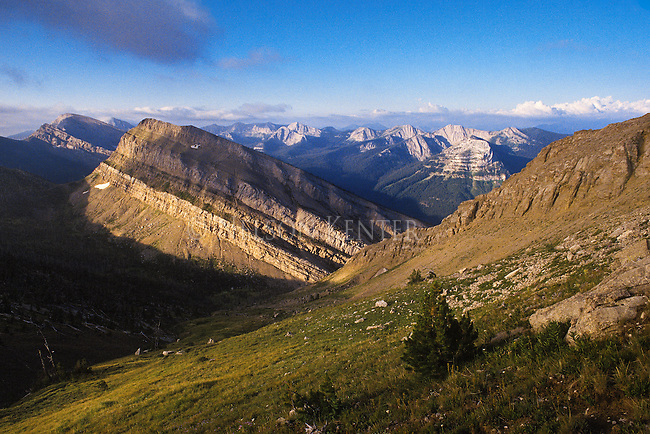 White River Pass on the continental divide in the heart of the Bob Marshall Wilderness