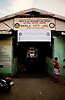 The entrance to Manila City Jail.  Manila faces a congestion problem in the jails and this facility is at more than twice it's intended capacity.