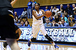 05 November 2015: Duke's Amber Henson. The Duke University Blue Devils hosted the Pfeiffer University Falcons at Cameron Indoor Stadium in Durham, North Carolina in a 2015-16 NCAA Women's Basketball Exhibition game. Duke won the game 113-36.