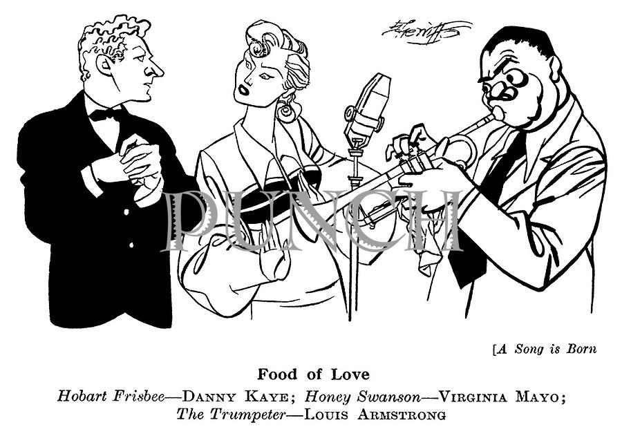 A Song is Born ; Danny Kaye , Virginia Mayo and Louis Armstrong..............