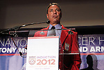 30 May 2012: 2012 Inductee Tony DiCicco. The 2012 National Soccer Hall of Fame Induction Ceremony was held at Fedex Field in Landover, Maryland before a men's international friendly soccer match between the United States and Brazil.