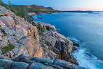 View from the Shore Path in Acadia National Park, Maine, USA