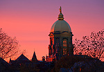 10.29.12 Dome Sunset.JPG by Matt Cashore/University of Notre Dame