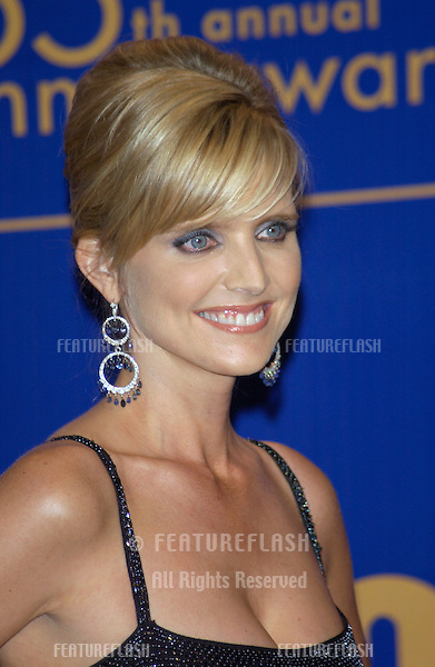 COURTNEY THORNE SMITH at the 55th Annual Emmy Awards in Los Angeles..Sept 21, 2003