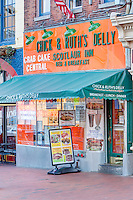Chick & Ruth's Delly and the Scotlaur Inn on Main Street in Annapolis, Maryland.
