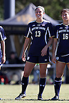 23 October 2016: Notre Dame's Ginny McGowan. The Wake Forest University Demon Deacons hosted the University of Notre Dame Fighting Irish at Spry Stadium in Winston-Salem, North Carolina in a 2016 NCAA Division I Women's Soccer match. Notre Dame won the game 1-0.