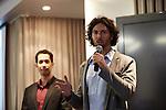6.10.2013, Berlin, Amano Rooftop Conference Center. High-Tech Forum Berlin. Itai Ben Jacob (rechts) und Elad Leschem (links)