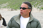 Jerry Adame On Beach Cleanup