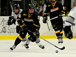 1 December 2007: University of Vermont Catamounts' forward Viktor Stalberg, a Sophomore from Gothenburg, Sweden, in action against the Providence College Friars at Gutterson Fieldhouse in Burlington, Vermont. The Friars defeated the Catamounts 4-0 in front of a capacity crowd of 4003, for the 64th consecutive sell-out at Gutterson...Mandatory Photo Credit: Ed Wolfstein Photo