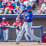 3 March 2016: New York Mets outfielder Alejandro De Aza in action during a Spring Training pre-season game against the Washington Nationals at Space Coast Stadium in Viera, Florida. The Mets fell to the Nationals 9-4 in Grapefruit League play. Mandatory Credit: Ed Wolfstein Photo *** RAW (NEF) Image File Available ***