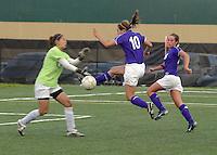 Girls Soccer vs University at Sectional 10-16-08