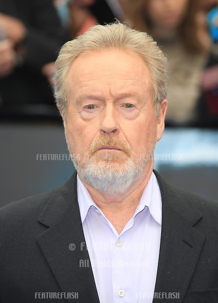 Ridley Scott arriving for the World Premiere of Prometheus, Empire Cinema in Leicester Square. 31/05/2012 Picture by: Henry Harris / Featureflash
