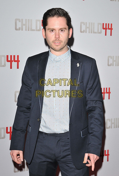 LONDON, ENGLAND - APRIL 16: Martin Delaney attends the &quot;Child 44&quot; UK film premiere, Vue West End cinema, Leicester Square, on Thursday April 16, 2015 in London, England, UK. <br /> CAP/CAN<br /> &copy;Can Nguyen/Capital Pictures
