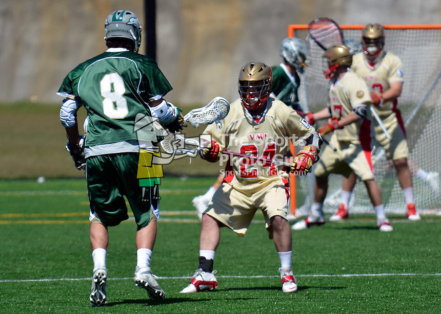 NCAA Men's Lacrosse: Jacksonville knocks off VMI, 13-8