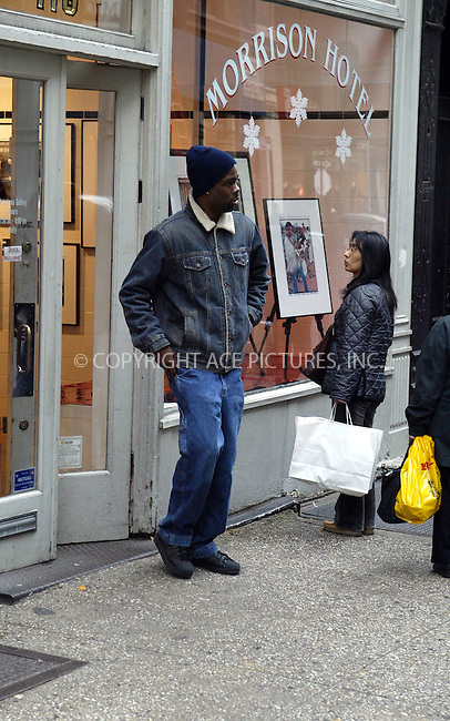 """Chris Rock was out and about, shopping in New York City. He visited Soho art gallery """"Morrison Hotel"""" where he purchased a 70's photograph of Richard Prior. November 11 2003. Please byline: NY Photo Press.   ..*PAY-PER-USE*      ....NY Photo Press:  ..phone (646) 267-6913;   ..e-mail: info@nyphotopress.com"""