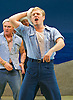 Lincoln Center Theater production of Rodgers &amp; Hammerstein's<br /> <br /> South Pacific <br /> <br /> Directed by Bartlett Sher <br /> <br /> Musical Staging by Christopher Gattelli<br /> Sets by Michael Yeargan<br /> Lighting by Donald Holder<br /> Costumes by Catherine Zuber<br /> Sound by Scott Lehrer<br /> Music Direction by Ted Sperling<br /> Original Orchestrations by Robert Russell Bennett<br /> <br /> at The Barbican Theatre, London, Great Britain <br /> <br /> 22nd August 2011 <br /> <br /> <br /> Chris Jenkins (as Swing)<br /> Photograph by Elliott Franks
