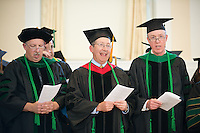Ira Bernstein, M.D., Lewis First, M.D., William Hopkins, M.D. Class of 2012 commencement.