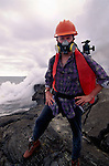 Art Wolfe on location, Hawaii Volcanoes Natioanal Park, Hawaii