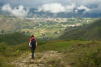 Exploring Chachapoyas in Northern Peru.