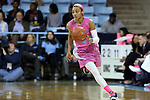 19 February 2015: North Carolina's Latifah Coleman. The University of North Carolina Tar Heels hosted the Wake Forest University Demon Deacons at Carmichael Arena in Chapel Hill, North Carolina in a 2014-15 NCAA Division I Women's Basketball game.