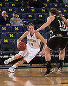 The University of Michigan women's basketball team beat Western Michigan University, 60-41, at Crisler Center in Ann Arbor, Mich., on December 15, 2012.