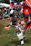 Native American Dancer # 149 in competition dance at ethnic pride, heritage and celebration at Eastcoat Thunderbird Pow Wow.