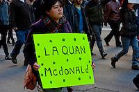 Protesting the Killing of Laquan McDonald 12-9-15