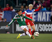 Rochester, NY - September 18, 2014: The USWNT ..  Mexico  at halftime of their international friendly at Sahlen's Stadium.
