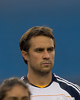 Los Angeles Galaxy defender Todd Dunivant (2). The New England Revolution defeated LA Galaxy, 2-0, at Gillette Stadium on July 10, 2010.