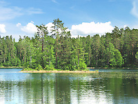 Lake Paukjärv, Harju County, Estonia