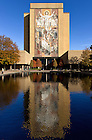 Oct. 12, 2012; Word of Life Mural, known as Touchdown Jesus..Photo by Matt Cashore/University of Notre Dame