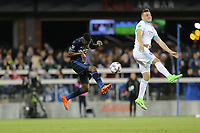 San Jose, CA - Saturday April 08, 2017: Fatai Alashe  during a Major League Soccer (MLS) match between the San Jose Earthquakes and the Seattle Sounders FC at Avaya Stadium.