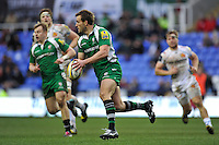 Andrew Fenby of London Irish looks to counter-attack. Aviva Premiership match, between London Irish and Exeter Chiefs on February 21, 2016 at the Madejski Stadium in Reading, England. Photo by: Patrick Khachfe / JMP