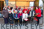 Enjoying the Christmas Lights in Listowel were Pictured Listowel Folk Group John Lucey, Joan Mulvihill, ames Mizell, Martina O'Connor, Eileen Leen, Tina Kinsella, John Kinsella, Caitriona O'Neil, Mary McGarth, Catherine Kirby, Ellen Godfrey, Yvonne Fagin, Mary Fagin, Tina O'Connell, Denis O'Rourke and Paddy McElligott